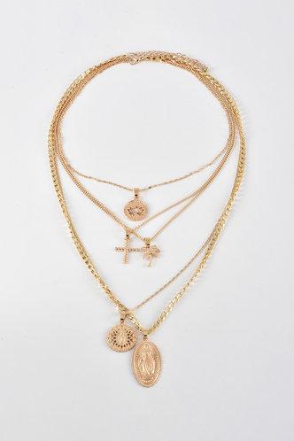 back_Erin Nakan Gold Necklace 5pcs