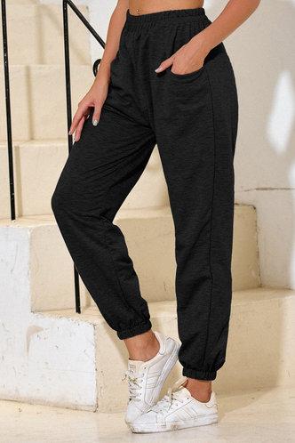 front_Malak Black Sweatpants