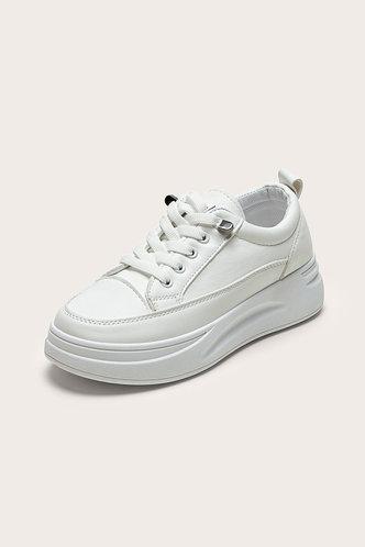 back_Odelette Edwina White Skate Shoes