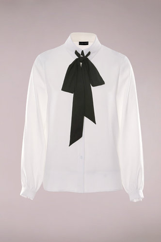 front_Sugar Sugar White Long Sleeve  Button Up Top