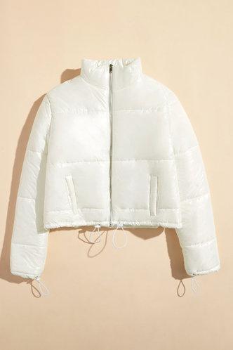 back_Adela Elaine White Puffer Jacket