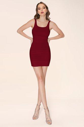 front_Kiss The Light {Color} Mini Dress