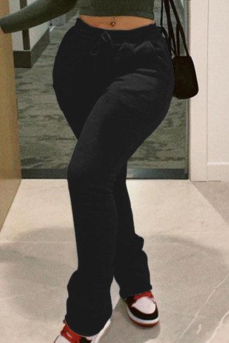 front_Tanisha Black Sweatpants