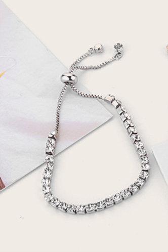 front_Mallory Esther Silver Bracelet