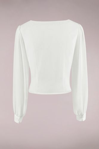 back_Going Crazy Ivory Long Sleeve Top