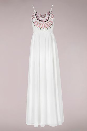 back_Assemblage White Maxi Dress