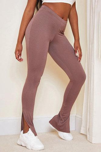 front_Edwina Kandeling Rusty Pink Leggings