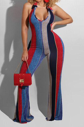front_Teresa Ella Colorfui Striped Jumpsuit