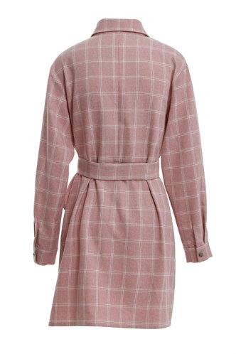back_Bonnie Eden Dusty Pink Belted Dress