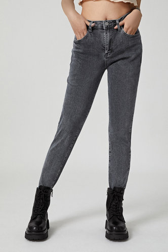 front_Power Shift Blue Skinny Jeans