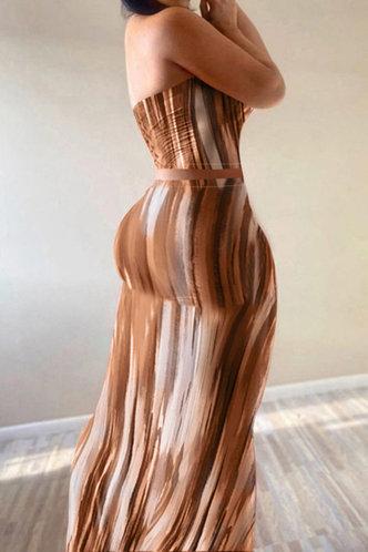back_Joanna Edwina Orange Tie Dye Set