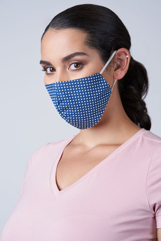 front_Non-medical Pattern Cotton Reusable Face Mask
