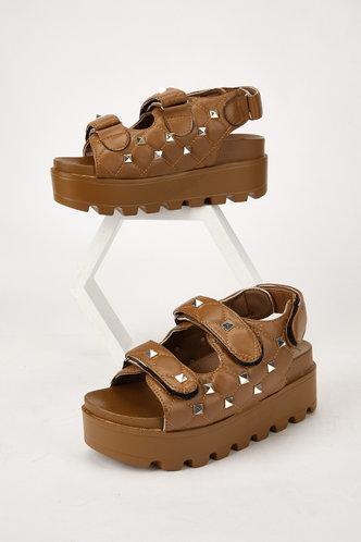 back_Dolores Marist Brown Wedge Sandals