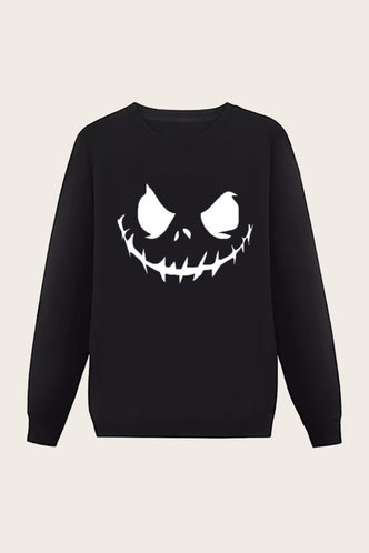 back_Long Sleeve Black Men Sweatshirts & Hoodies