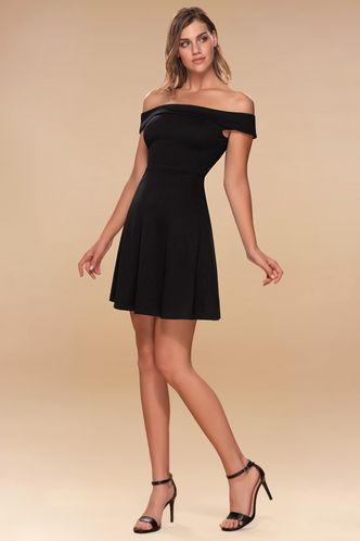 front_Perfect Match {Color} Skater Dress