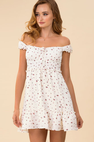 front_Cruising {Color} Mini Dress