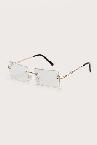 back_Summer Eleanore White Metal Frame Tinted Lens Sunglasses