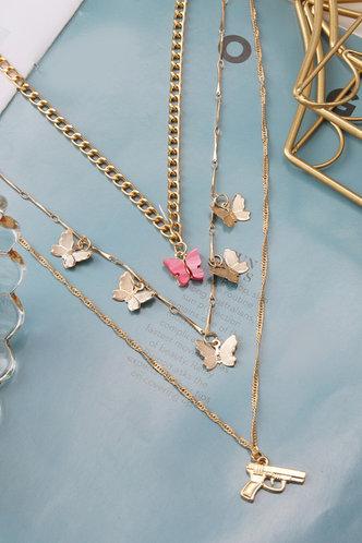 front_Simona Enid Gold Necklace 3pcs