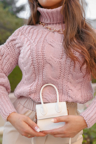 front_Glory Dusty Pink Sweater