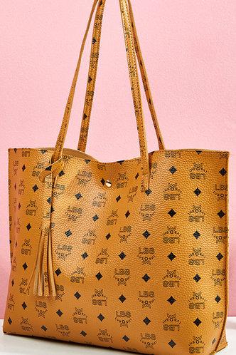 back_Eudora Lamris Brown Tote Bag
