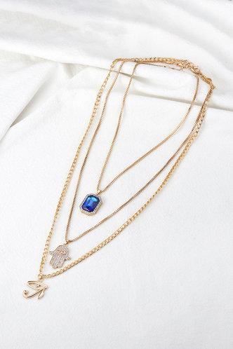back_Fanny Kovert Gold Necklace 3pcs