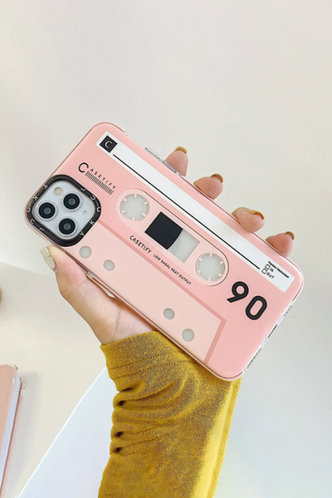 back_Tape Style Pink Cases