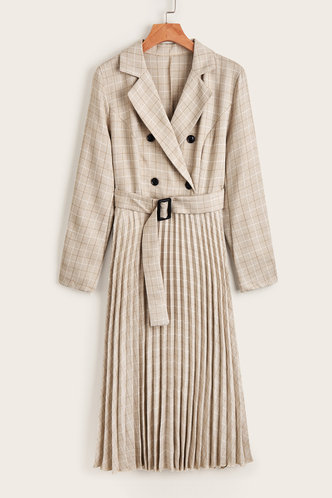 front_Kyushu Beige Dress