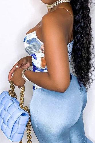 back_Evelina Ella Blue Multi Print Zig Up Halter Top