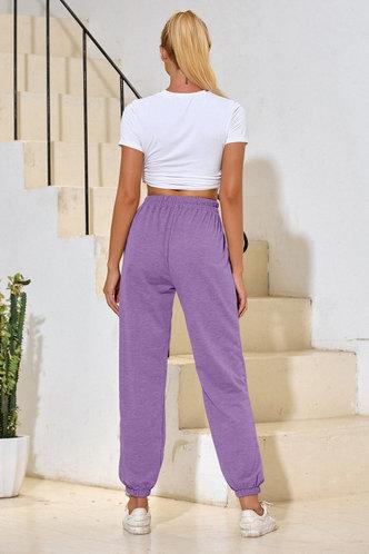 back_Malak Violet Purple Sweatpants