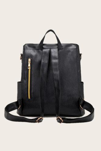 back_Prudence Eudora Black Bagpack