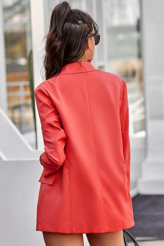 back_Fawn Red Blazer