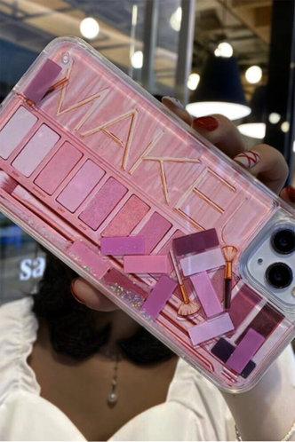back_Casual Color Block Multicolor Cases