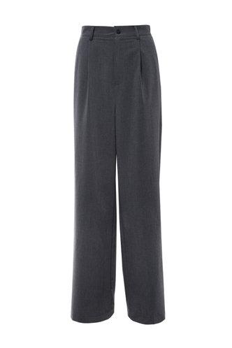 back_Lounging Love Dark Grey Wide Leg Pants