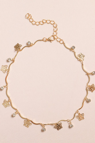 front_So Charming Life Golden Choker