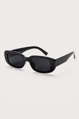 back_Tessa Eleanore Black Acrytic Frame Sunglasses