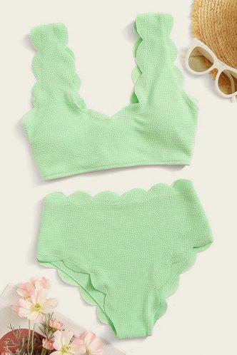 front_Alvina Edith MInt Green Bikini