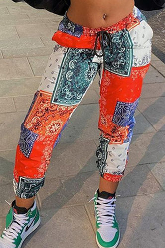 front_Ally Eleanore Paisley Print Pants