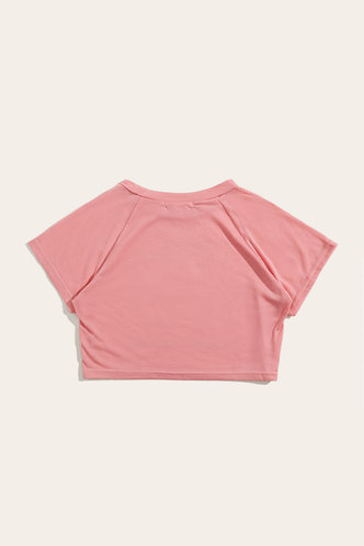 back_Julia Eden Pink Crop Tee