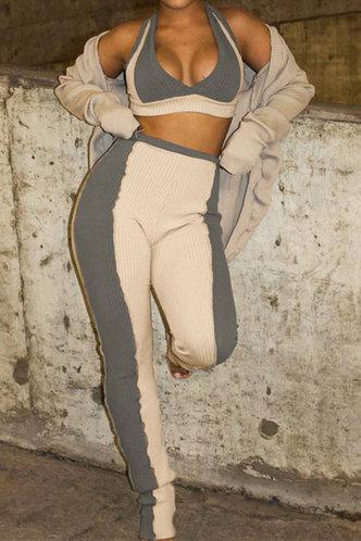 front_Helena Ella Khaki And Grey Set