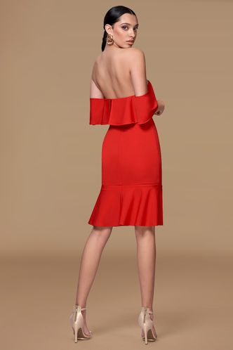 back_Crazy in love {Color} Midi Dress