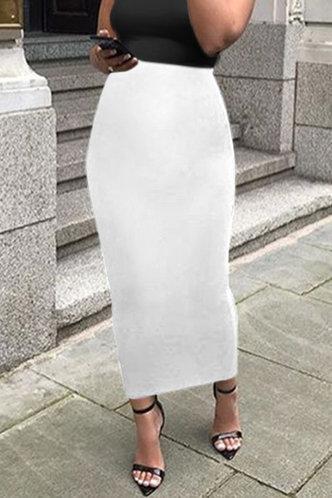 front_Alexandrina Elsie White Skirt