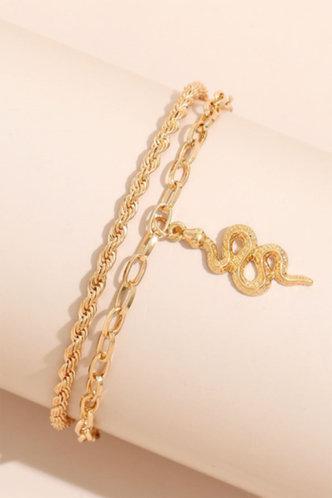 back_Elissa Esther Gold Anklet Chain