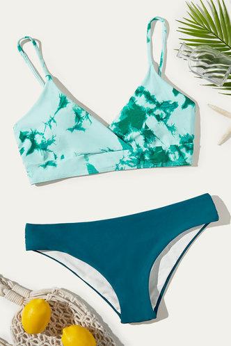 back_Annetta Eileen Green Tie Dye Bikini