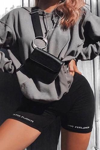 back_Karol Eleanore Black Plus Shorts