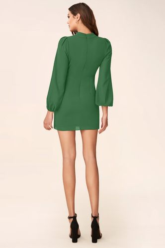 back_All I Want Green Mini Dress