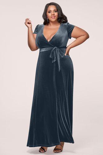 back_Dreaming Of You {Color} Velvet Maxi Dress