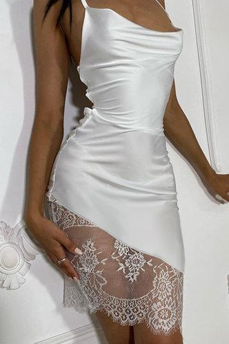 front_Cynthia Eartha White Lace Hem Cami Dress