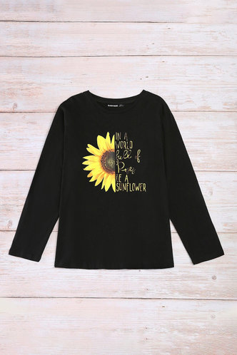 back_Amabel Eden Black Plus Sweatshirt