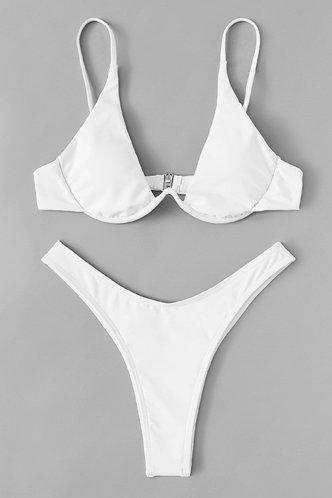 back_Ana Elaine White Bikini