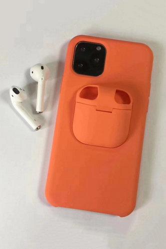 front_Alicia Eunice Orange Phone Case